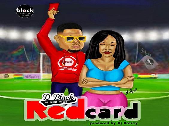 D-Black - Red Card