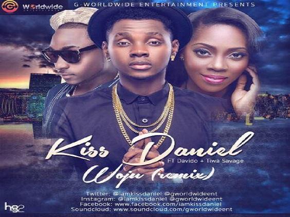 Kiss Daniel - Woju Remix Ft Davido & Tiwa Savage