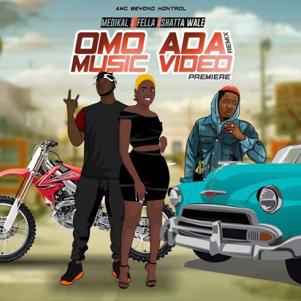Medikal - Omo Ada (Remix) Ft Shatta Wale & Fella Makafui