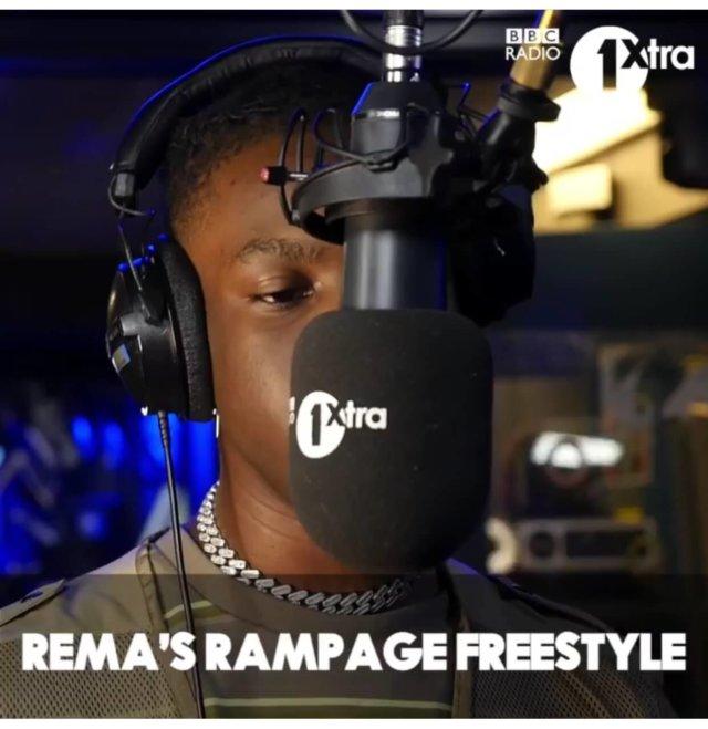 Rema - Rampage (Freestyle)