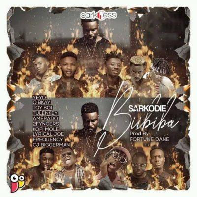 Sarkodie - Biibiba Ft Kofi Mole & Frequency & Toi Boy & Amerado & 2Fyngerz & Tulenkey & CJ Biggerman & Lyrical Joe & Yeyo & O'Bkay
